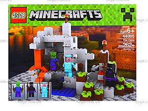 Конструктор Minecraft, 267 деталей, 44005, цена