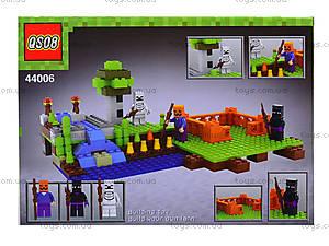 Детский конструктор Minecraft, 232 деталей, 44006, купить