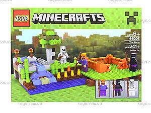 Детский конструктор Minecraft, 232 деталей, 44006, отзывы