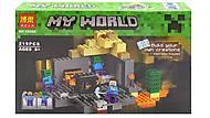 """Конструктор """"Minecraft: Подземелье"""", 219 деталей, 10390"""