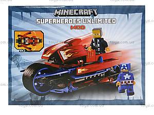 Конструктор Minecraft «Мотоцикл», 200 деталей, 15333, купить