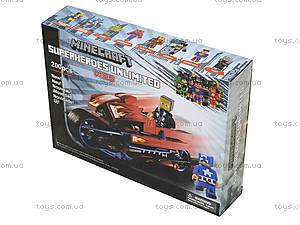 Конструктор Minecraft «Мотоцикл», 200 деталей, 15333, фото
