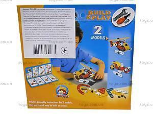 Конструктор «Модель вертолета и машины», 2555-13, фото