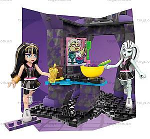 Конструктор Monster High Mega Bloks «Школьная страшнотерия», DKT93, цена