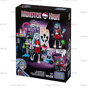 Игровой набор Mega Bloks Monster High «Монстро-хобби», CNF79, отзывы