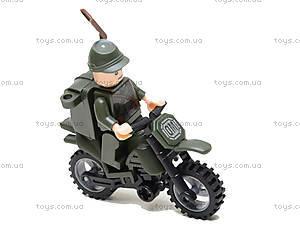 Конструктор «Мотоцикл», 19 элементов, 829, детские игрушки
