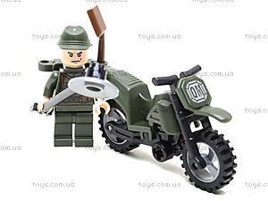 Конструктор «Мотоцикл», 19 элементов, 829, магазин игрушек