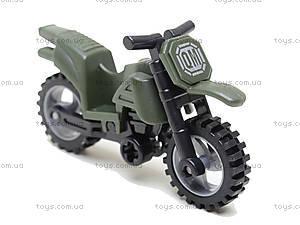 Конструктор «Мотоцикл», 19 элементов, 829, toys.com.ua