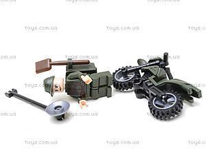 Конструктор «Мотоцикл», 19 элементов, 829, іграшки