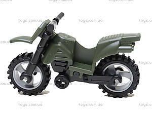 Конструктор «Мотоцикл», 19 элементов, 829, детский