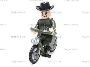 Конструктор «Мотоцикл», 20 элементов, 827, toys