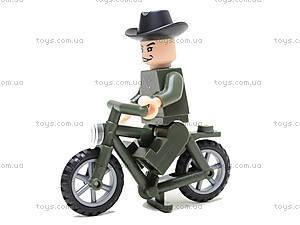 Конструктор «Мотоцикл», 20 элементов, 827, детский