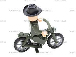 Конструктор «Мотоцикл», 20 элементов, 827, доставка