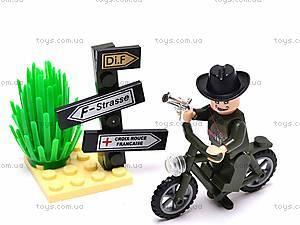 Конструктор «Мотоцикл», 20 элементов, 827, фото