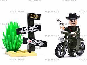 Конструктор «Мотоцикл», 20 элементов, 827, цена