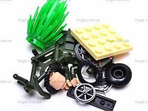 Конструктор «Мотоцикл», 20 элементов, 827, игрушки