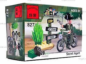 Конструктор «Мотоцикл», 20 элементов, 827