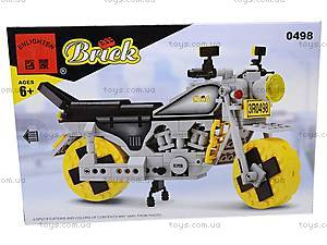 Конструктор «Мотоцикл», 0498, игрушки