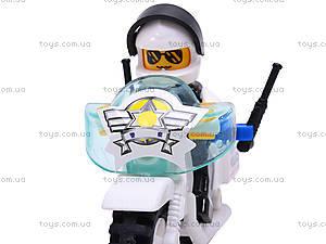 Конструктор «Мотоцикл полиции», M38-B1100, игрушки