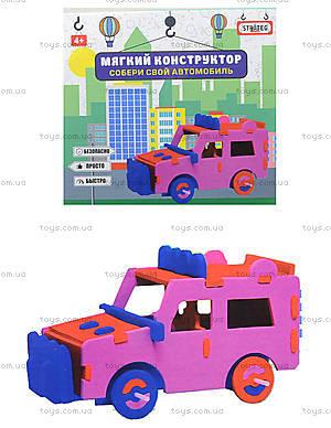 Конструктор мягкий «Автомобиль-джип», 6104