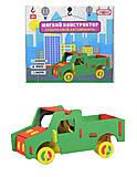 Конструктор мягкий «Автомобиль-грузовик», 6101, отзывы
