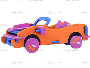 Конструктор мягкий «Автомобиль-кабриолет», 6100, отзывы
