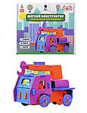 Детский конструктор «Автомобиль-кран», 6105, фото
