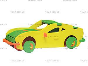 Детский мягкий конструктор «Автомобиль-купе», 6102, фото