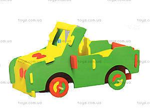 Мягкий конструктор «Автомобиль-внедорожник», 6103, купить