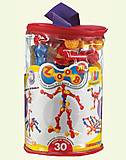 Конструктор на шарнирах, 30 деталей, 13030, детские игрушки