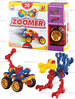 ZOOB конструктор подвижный детский Jr.Zoomer, 13020