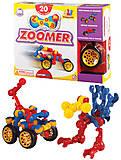 Конструктор на шарнирах Jr.Zoomer, 13020, оптом
