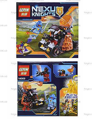 Конструктор NEXO knights, 107 деталей, 14009