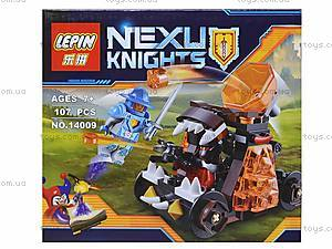 Конструктор NEXO knights, 107 деталей, 14009, фото