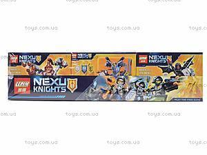 Конструктор для детей NEXO knights, 14001A-F, отзывы