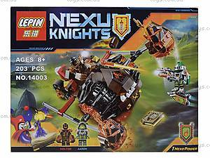 Конструктор NEXO knights, 198 деталей, 14003, фото