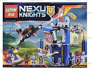 Конструктор NEXO knights, 303 детали, 14007, отзывы