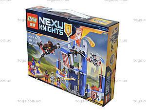 Конструктор NEXO knights, 303 детали, 14007, игрушки