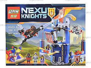 Конструктор NEXO knights, 303 детали, 14007, детские игрушки