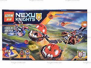 Конструктор NEXO knights, 329 деталей, 14004, купить