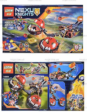 Конструктор NEXO knights, 329 деталей, 14004