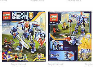 Конструктор NEXO knights, 385 деталей, 14008