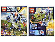Конструктор NEXO knights, 385 деталей, 14008, отзывы