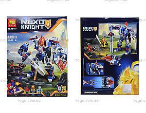 Конструктор NEXO knights «Механический рыцарь», 387 деталей, 10487
