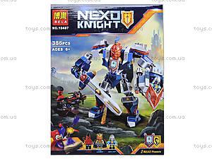 Конструктор NEXO knights «Механический рыцарь», 387 деталей, 10487, фото