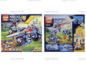 Конструктор NEXO knights, 392 деталей, 14012