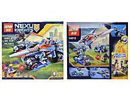 Конструктор NEXO knights, 392 деталей, 14012, отзывы