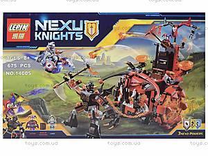 Конструктор NEXO knights, 675 деталей, 14005, фото