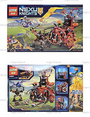 Конструктор NEXO knights, 675 деталей, 14005