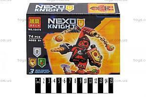 Конструктор NEXO knights «Герои сражений», 10475-10480
